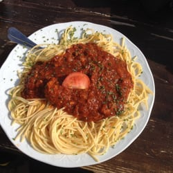 One of the best pasta bolognese I've ever eaten!