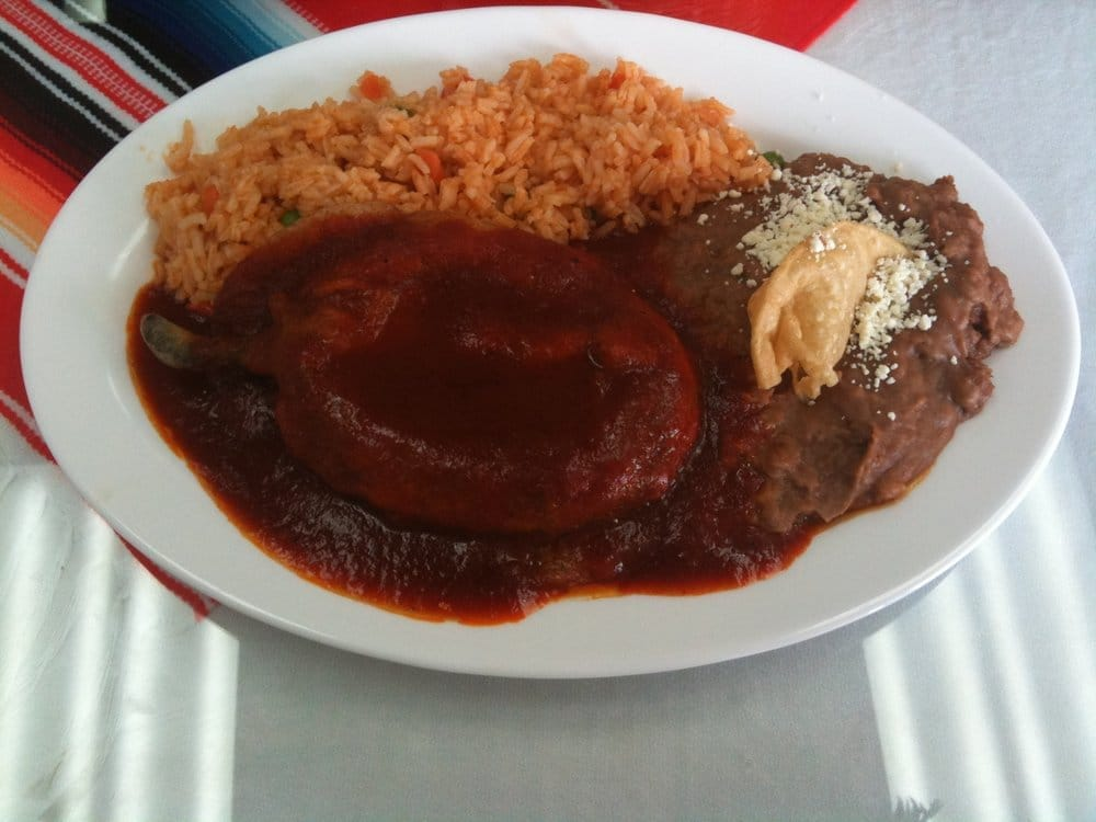 Chile Relleno - fried Poblano pepper stuffed with Oaxaca cheese | Yelp