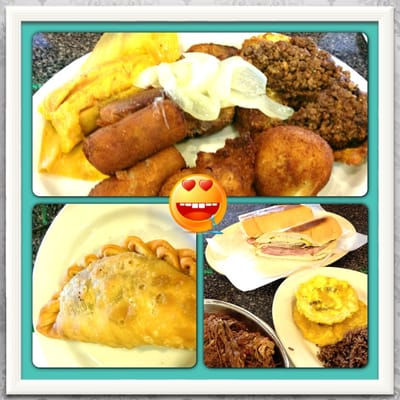 ... this in my life. Sampler, empanada, Cuban Sammy, ropa de delish | Yelp