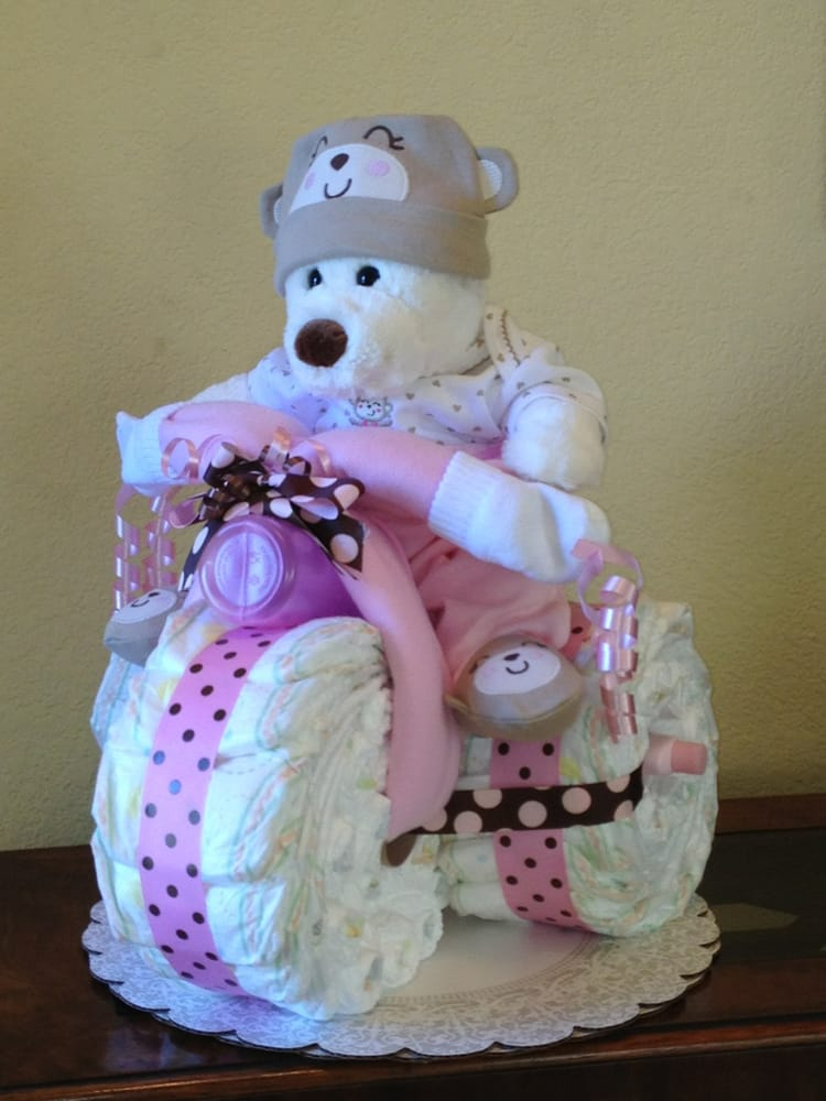 how to make a baby towel cake