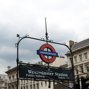 Westminster Tube Station, London, UK