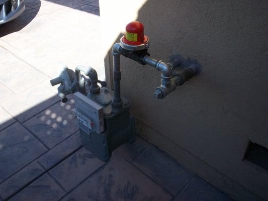 Residential Emergancy Automatic Gas Earthquake Shut Off