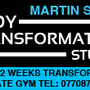 Personal Trainer Martin Spence Body Transformation Studio
