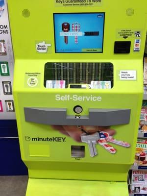 minute key machine