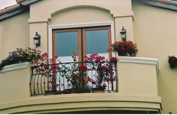 Custom Design Wrought Iron Balcony Railing | Yelp