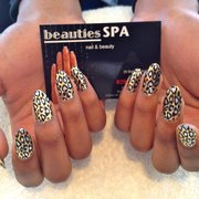 "MINX ""Gold Lightning Cheetah"" ..x.."