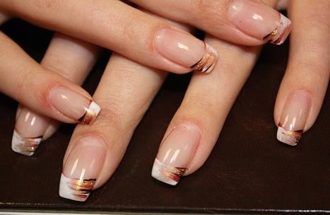 WHITE TIP, W/NAIL ART HAND DESIGN | Yelp