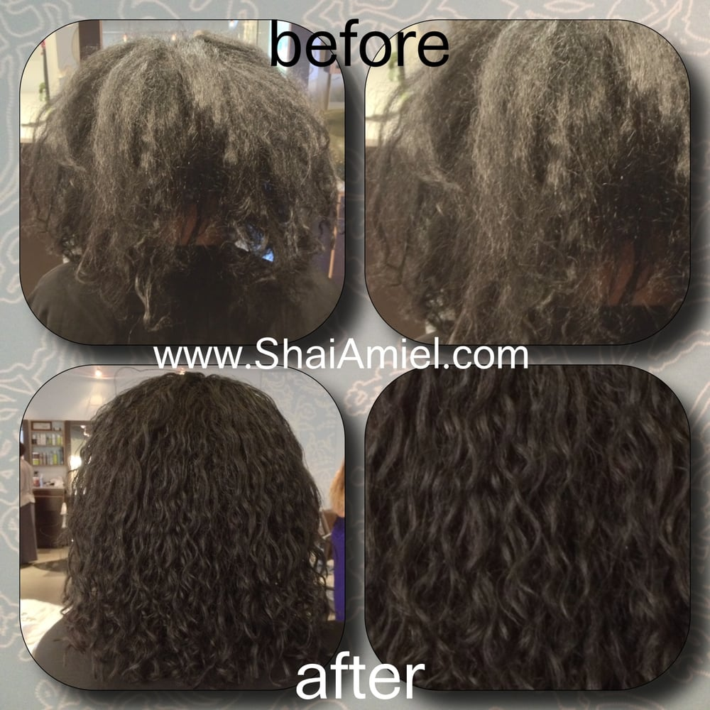 Curly Hair Healing Center At Capella Salon Specializing In