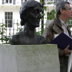 The Virginia Woolf Society talk in the Square