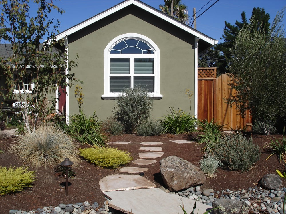 Drought Tolerant No-Lawn Front Yard | Yelp