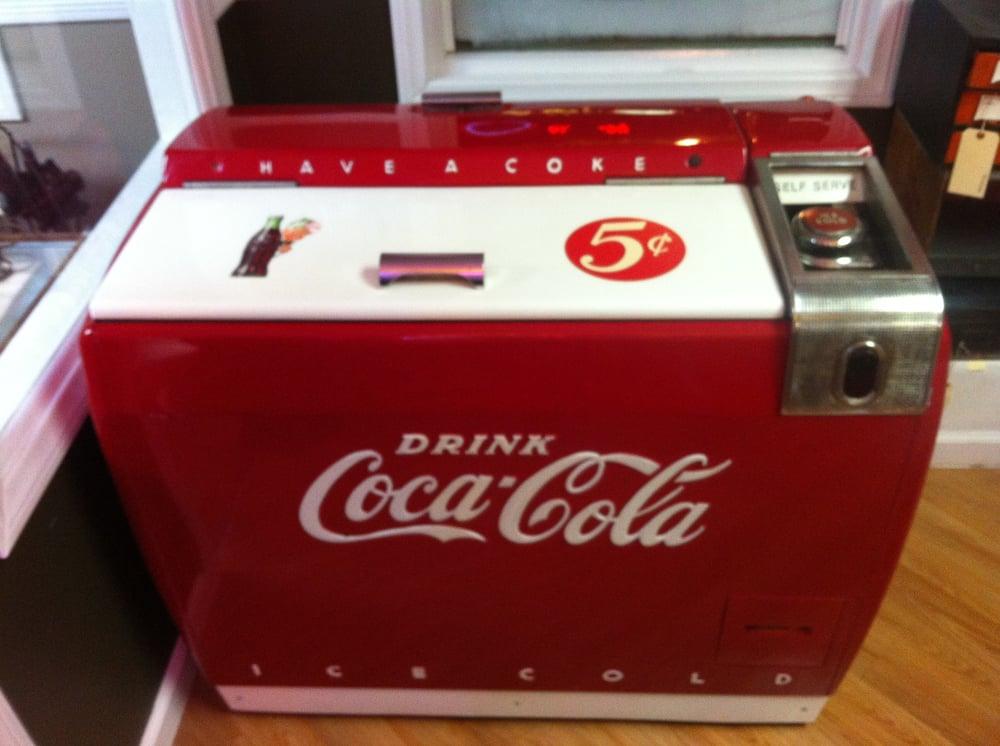 working coke machine