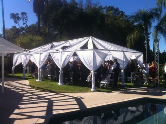 party tent rentals los angeles pipe and drapes rentals los angeles