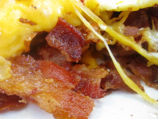 Omelette - Bacon & Cheese | Yelp