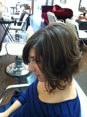 Curly Toussled Inverted Bob | Yelp