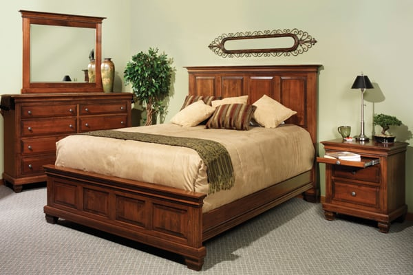 Solid wood amish bedroom furniture yelp - Amish bedroom furniture ...