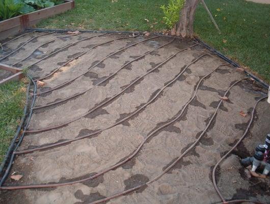 Subsurface Drip Irrigation Installation Yelp