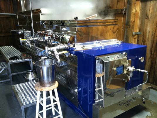 how to build an evaporator for maple syrup