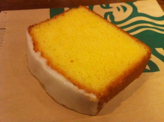 Starbucks Lemon Pound Cake Review