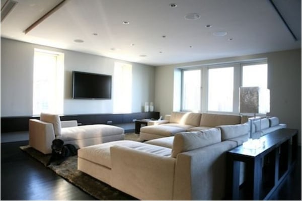 Modern Family Room Delectable Of Modern Family Room Design Image