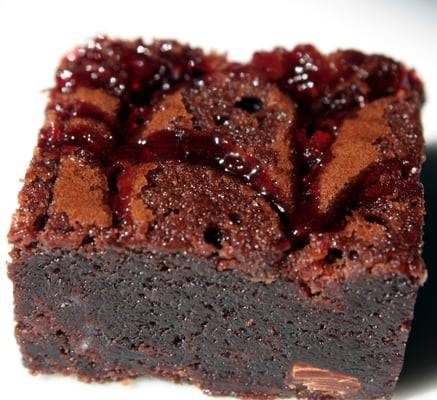 Chocolate Raspberry Brownie | Yelp