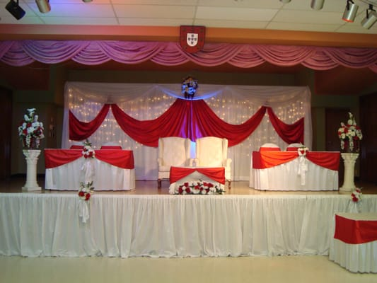 Wedding decoration, wedding stage decoration, wedding backdrop | Yelp