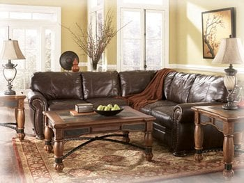Our leather sectional sofas and sectionals are available with or ...