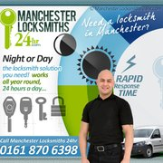 24 hour locksmiths Manchester