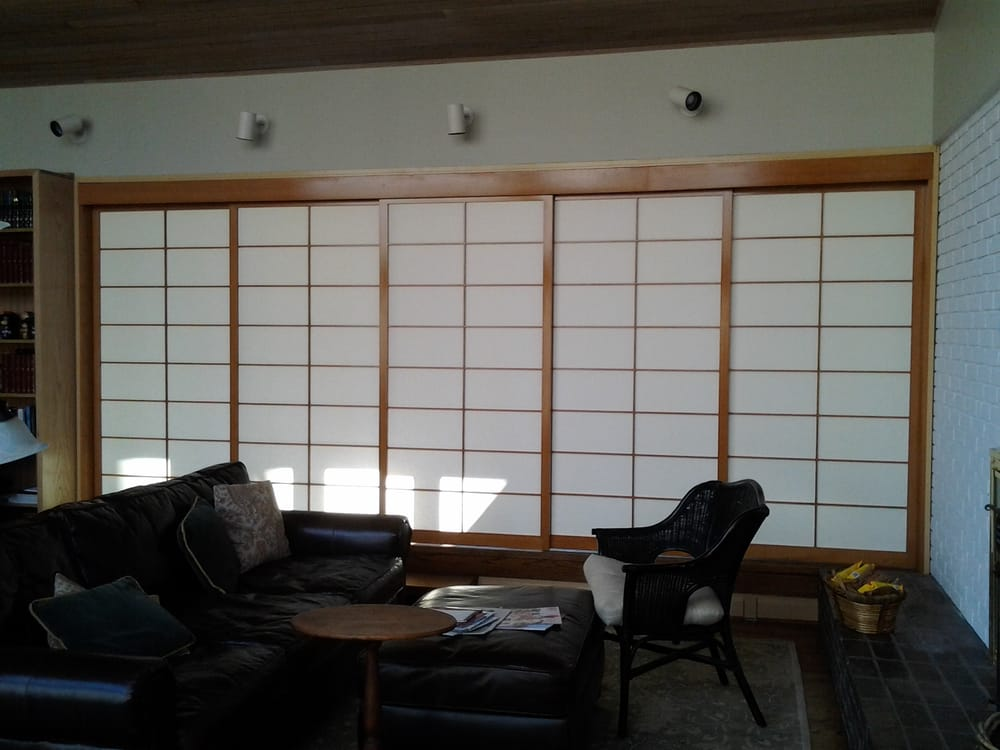 Sliding room divider shoji screens. | Yelp
