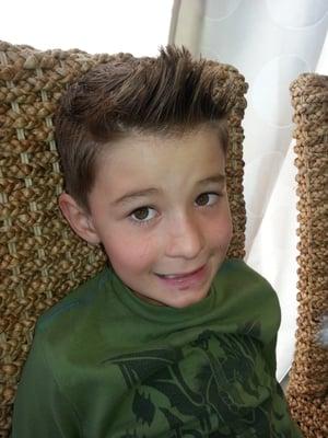 Awesome kids haircuts.  Yelp