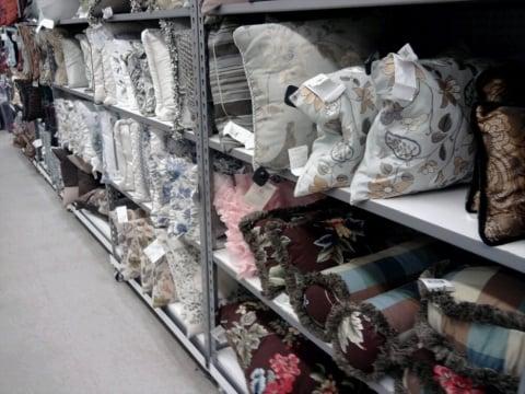 tons of throw pillows Yelp