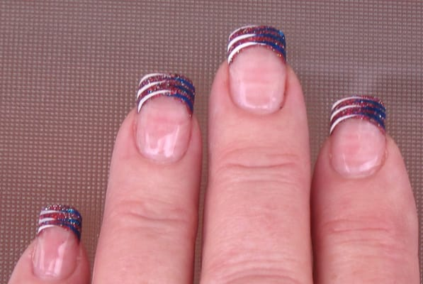 Awesome 4th of july nails by heather
