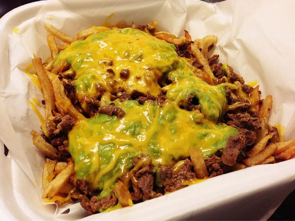 Carne Asada Fries Betos Late night carne asada fries