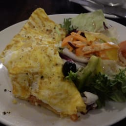Lunch Omelet at Cafe Java
