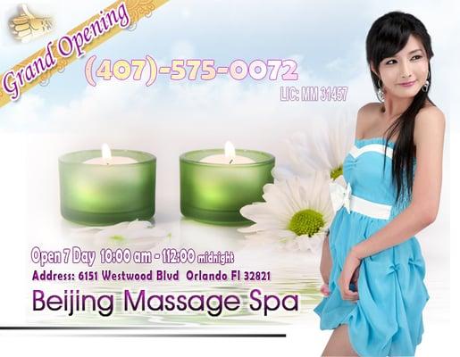 Orlando massage beijing spa massage therapy for Spa treatment near me