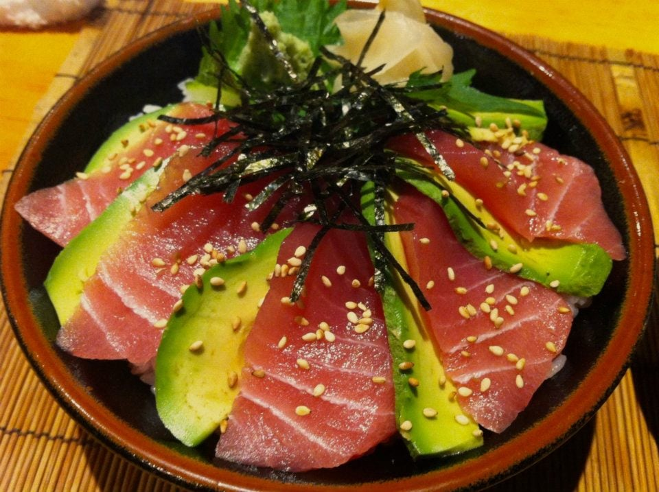 Tuna Sashimi and Avocado Rice Bowl | Yelp