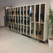 Lockers for your personal stuff.