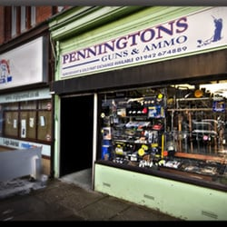 Penningtons Guns and Ammo, Leigh, Lancashire