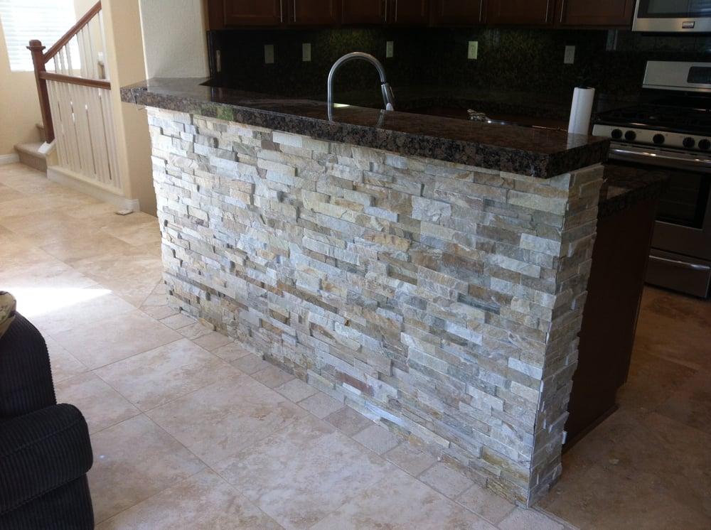 Stone Veneer Under Bar Top Yelp
