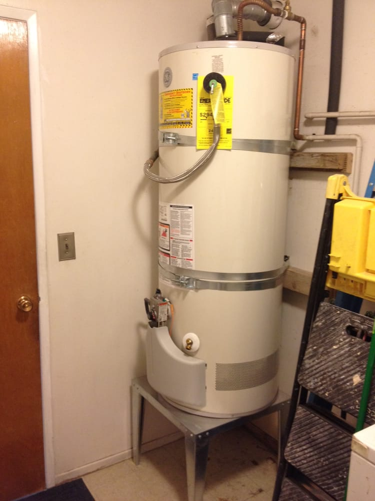 New Ge Water Heater Rheem Was Installed By Tony Put On