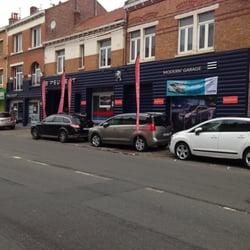 Peugeot modern garage autodealers rijsel nord for Garage peugeot nord