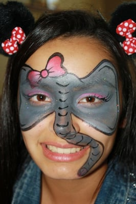 Elephant Face Painting http://www.yelp.com/biz_photos/face-painting-by-cynnamon-rancho-cucamonga?select=u3vo7rA8EXJta9Vxdih8vg