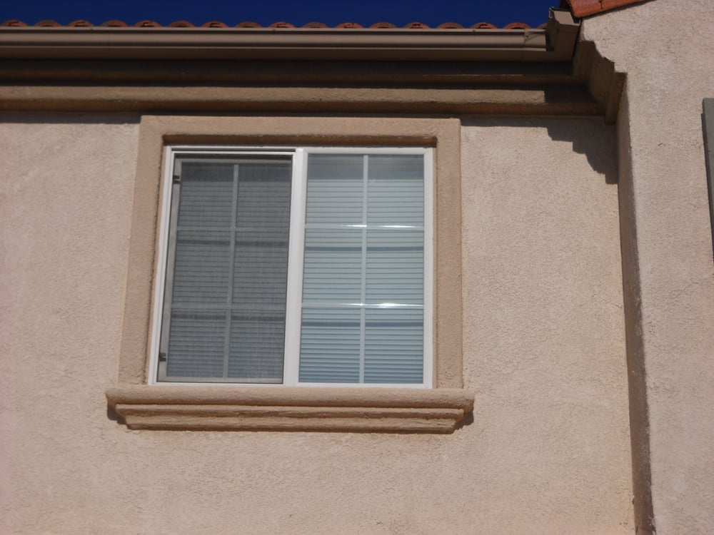 Elegant foam molding installed around window yelp for Windows and doors near me