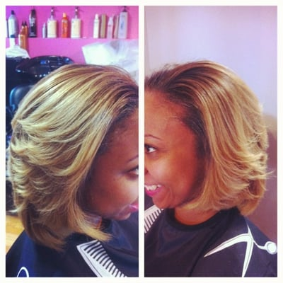 blonde natural hair with keratin treatment yelp
