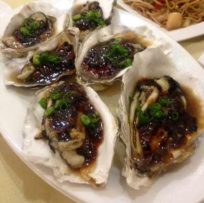 Steamed oyster with black bean sauce! | Yelp