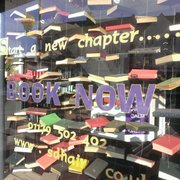 'Book Now' Window display 2013