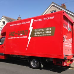 Our large luton removal van for larger moves.