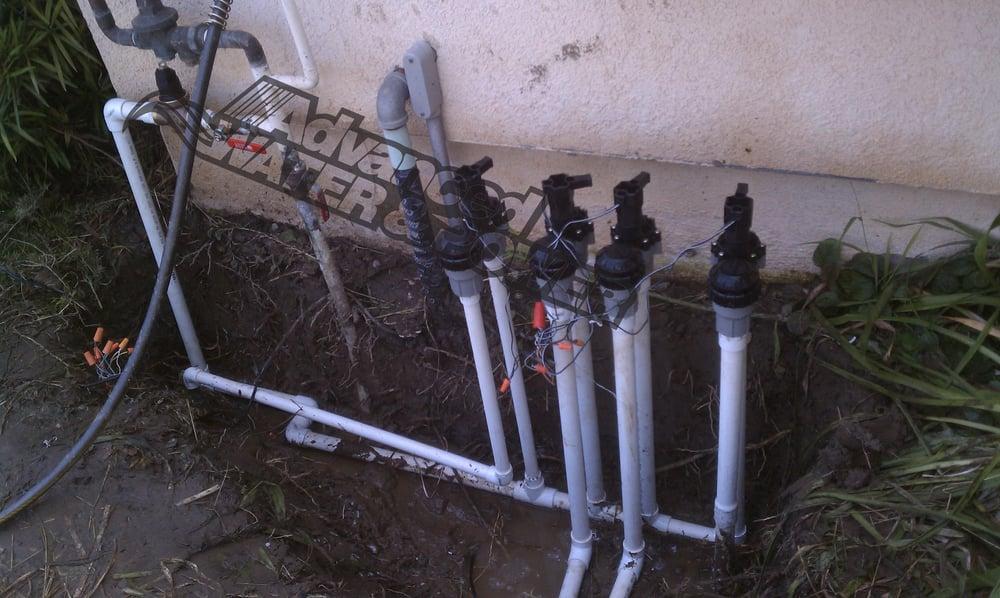 installation of irrigation valves pressure regulator and. Black Bedroom Furniture Sets. Home Design Ideas