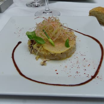 Tartare de StJacques (menu Top Chef)