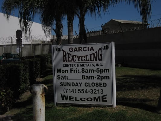 Garcia Recycling Metals Garden Grove Ca Usa Yelp