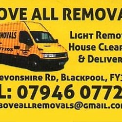 Above All Removals, Blackpool